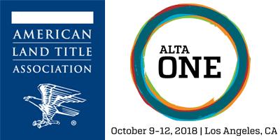 American Land Title Association, ALTA One